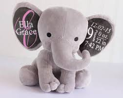 personalize baby gifts personalized baby gift birth stat elephant birth stat gift