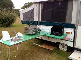 Camper Trailer Kitchen Ideas Flooring Camper With Outdoor Kitchen Best Rv Remodeling Ideas