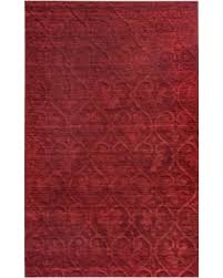 Rugs 8 X 8 Bargains On Rizzy Home Techinique Hand Loomed Solid Burgundy Red