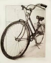 how to draw a bicycle step by step bikes pinterest