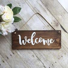 Decorative Wreaths For Home by Welcome Sign For Front Door Wreath Sign Outdoor Sign Wood