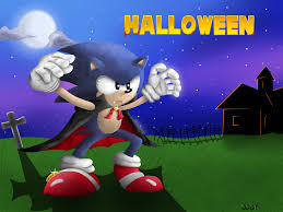 classic sonic in halloween costume by oggynka on deviantart