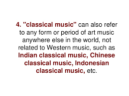 what does the word classical