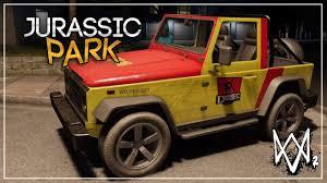 jeep wrangler easter eggs watch dogs 2 easter egg do jurassic park youtube