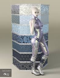 3d Fashion Design Software Alien Metals Iray Shaders For Daz Studio 3d Models And 3d