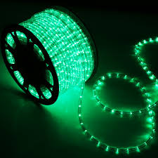 150 green led rope light home outdoor lighting wyz
