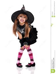 Halloween Costume Girls Halloween Costume Royalty Free Stock Photos Image