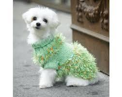 turtleneck dog sweater pattern knit lion brand yarn