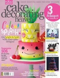 Cake Decorating Heaven — July August 2017 PDF free