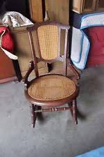 Cane Rocking Chair Antique Cane Back Rocking Chair Vintage E Tenda Wood Folding Chair