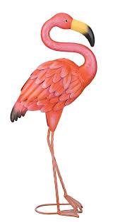 regal gift standing flamingo garden decor