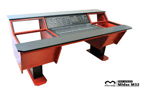 recording studio workstation desk midas m32 1a jpg