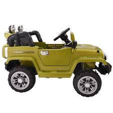 kids electric jeep jeep style kids ride on battery powered electric car w remote