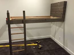 Build Bunk Bed How To Build A Bunk Bed Ladder The Best Bedroom Inspiration