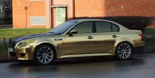 bmw e60 gold bmw m5 gold