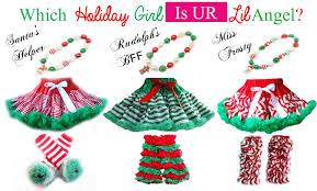 girls christmas holiday clothing christmas tutus baby