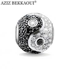 diy bracelet pandora beads images Aziz diy chinese yin and yang beads big hole crystal beads jpg