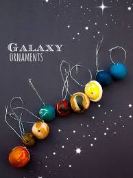 diy outer space planet ornaments for space planets