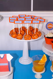 basketball party ideas kara s party ideas basketball themed 1st birthday party with