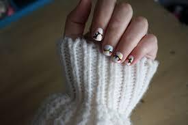 Christmas Light Nails by How To Christmas Light Nails U2013 The Rebekah Koontz Site