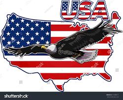 Usa Flag Photos American Eagle Usa Flags Stock Vector 515580511 Shutterstock