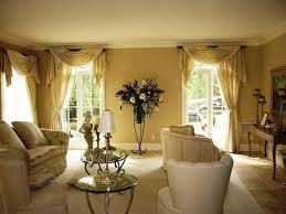 Curtains For Brown Living Room Country Curtains For Living Room In And Brown Color