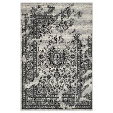 Are Polypropylene Rugs Safe Safavieh Adr101a Adirondack Polypropylene Power Loomed Silver