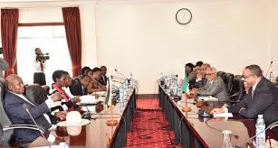 Cabinet President President Museveni And Members Of Cabinet Holds Bilateral Talks