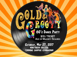 60 S Design Gold U0026 Groovy 60s Dance Party