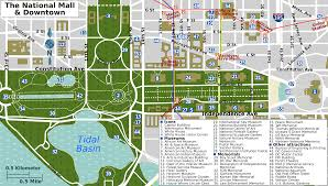 Washington Square Mall Map Washington Dc Mall Map Printable Description National Mall Map