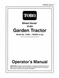 download 1993 wheelhorse 312 314 416 owners manual for models