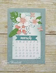 botanical calendars march desktop calendars swimming in sts