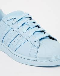 adidas originals light blue image 4 of adidas originals pharrell williams supercolor sky blue
