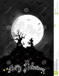 halloween background moon halloween background on the full moon with scary tree and witch
