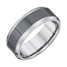 mens two tone wedding bands two tone men s wedding bands groom wedding rings for less