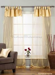 white tab top embroidery sheer tissue curtains search results