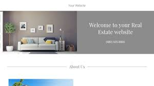 real estate website templates godaddy