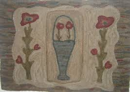 primitive rug hooking wool applique hand dyed wool punch needle