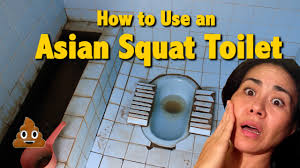 Bathroom In Thai How To Use The Asian Squat Toilet Youtube