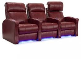 usb charging power recline home theater seating 4seating