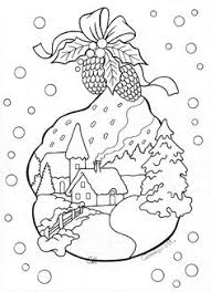 christmas card coloring pages christmas designs coloring page doverpublications christmas