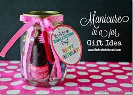that s what che said manicure in a jar gift idea