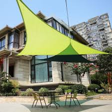 triangle sail patio covers patio outdoor decoration