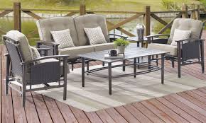 coronado outdoor love seat coffee table u0026 2 arm chairs
