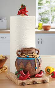 themed paper towel holder southwest kitchen paper towel holder southwestern decor