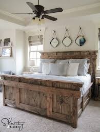 Woodworking Plans Projects June 2012 Pdf by Diy King Size Bed Free Plans Shanty 2 Chic