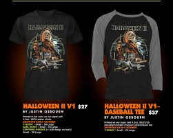 the horrors of halloween fright rags halloween ii and iii t shirt