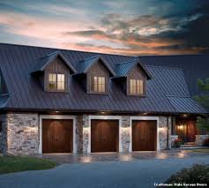 craftsman style garage doors with contemporain salle de bain