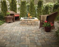 Rumblestone Fire Pit Insert by Tips Traditional Outdoor Heater Design Ideas With Pavestone Fire