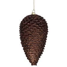 ornaments pine cone ornaments christmastopia